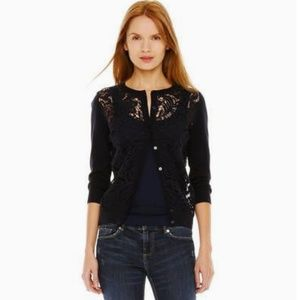 Front Lace Cardigan